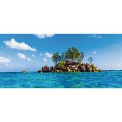Pequena Ilha no Meio do Oceano