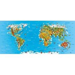 Mapa do Mundo Infantil das Culturas