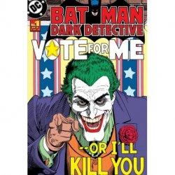 Capa de Banda Desenhada Batman vs Joker
