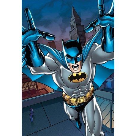 Mural Batman de Banda Desenhada