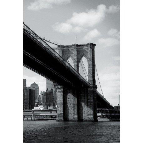 Mural Sob a Ponte de Brooklyn