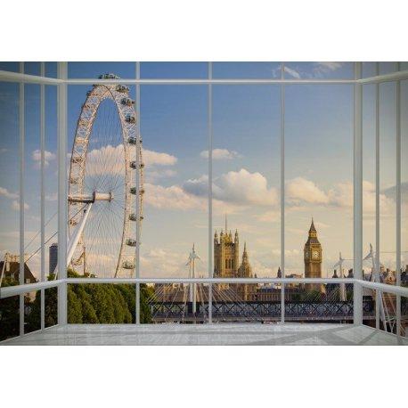 Balcão com Vistas para a Roda Gigante de Londres