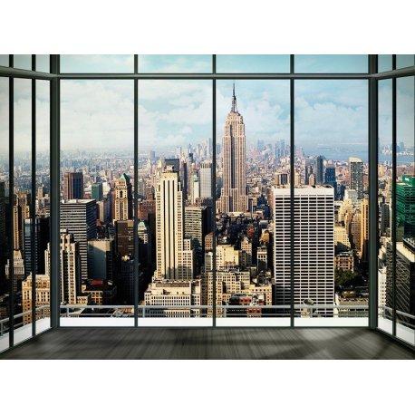 Balcão com Vistas para Nova Iorque