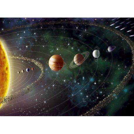 Mural O Sistema Solar por Completo