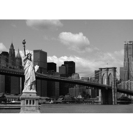Composição Nova Iorque em Preto e Branco