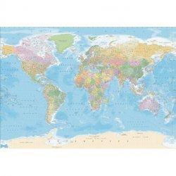 Poster Mapa do Mundo Político