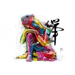 Estátua Buda Japonês Colorida