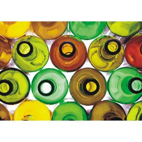Mosaico Botelhas Cores