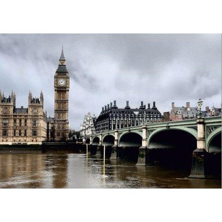 Vista Palácio Westminster e Big Ben