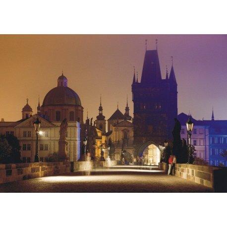 Anoitecer Romântico em Praga
