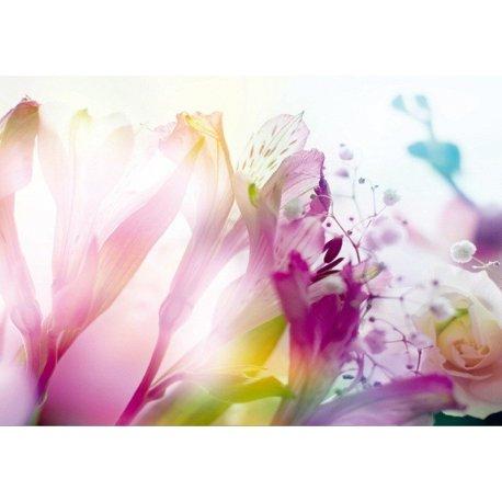 Mural Flores Cor de Rosa