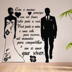 Casal de Noivos Uma Vida Juntos