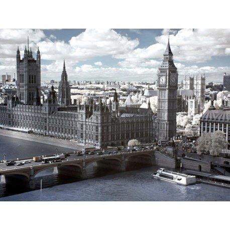 Vista Palácio de Westminster Londres