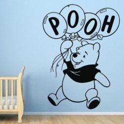 Winnie Pooh com Balões