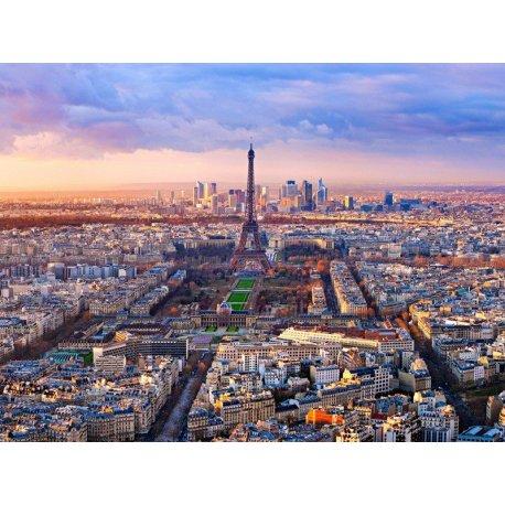 Vista Paris desde o Céu