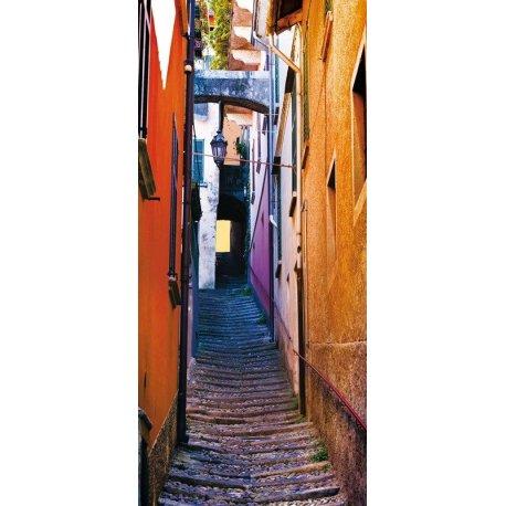 Pequena Rua Colorida Com Charme