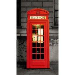 Cabina Vermelha Londres Clássica