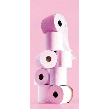 Torre de Papel em Rosa