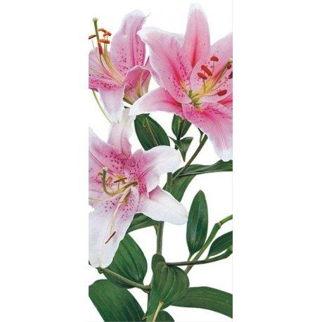 Ramo de Flores em Rosa e Branco