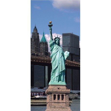 Estátua da Liberdade perante Nova Iorque