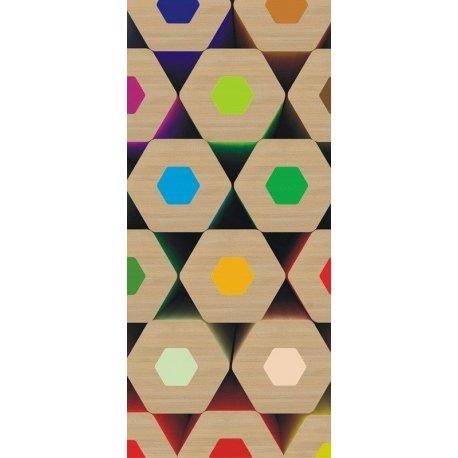Mosaico de Lápis de Cores