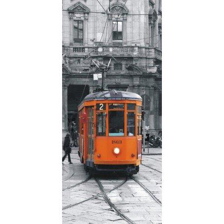 Carro Eléctrico Laranja de Milão