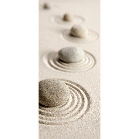 Pedras Zen sobre a Areia