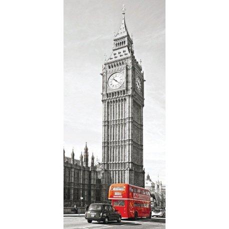 Autocarro Londres face ao Big Ben