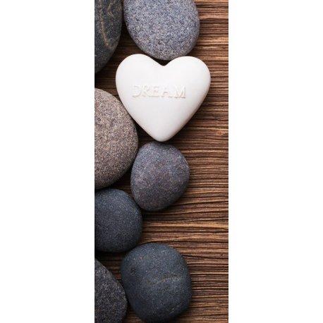 Pedras Zen com Mensagem Dream