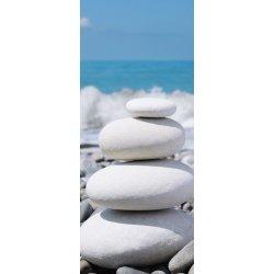 Pedras Brancas em Equilíbrio