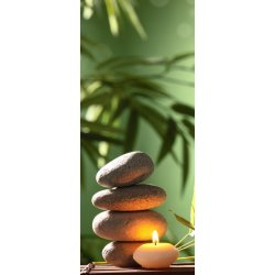 Vela Relax junto a Pedras Zen