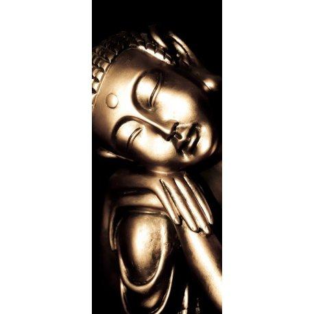 Buda Sabedoria Mão sobre Joelho