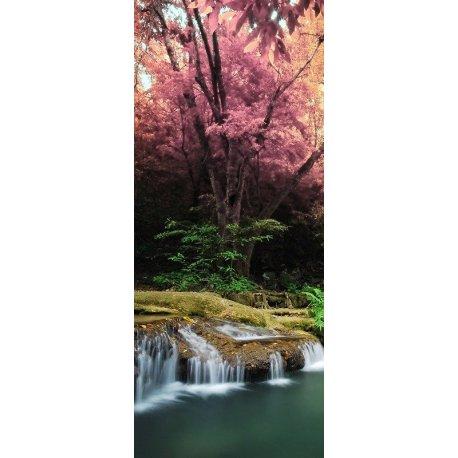 Cascata Japonesa junto à Amendoeira Florida