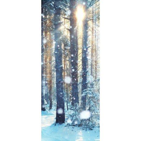 Neve no Bosque de Inverno