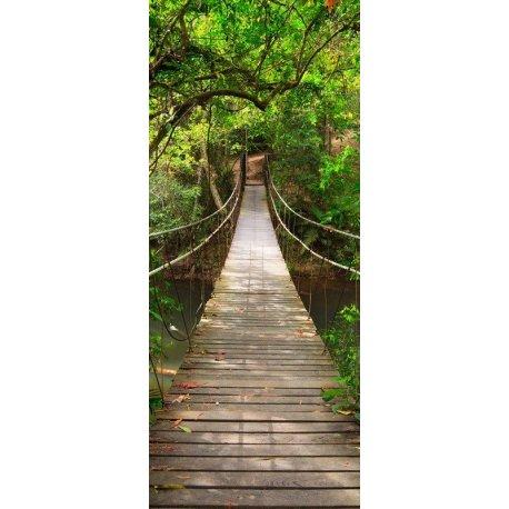 Ponte Suspensa sobre o Rio