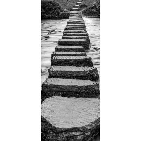 Passo de Pedras sobre o Rio