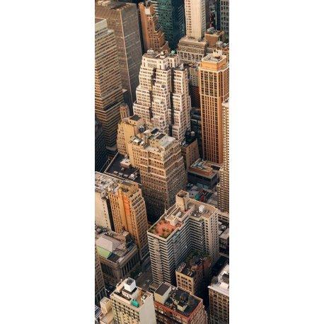 Arranha-céus Manhattan numa visão Panorâmica