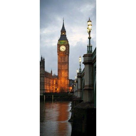 Big Ben Iluminado ao Pôr do Sol