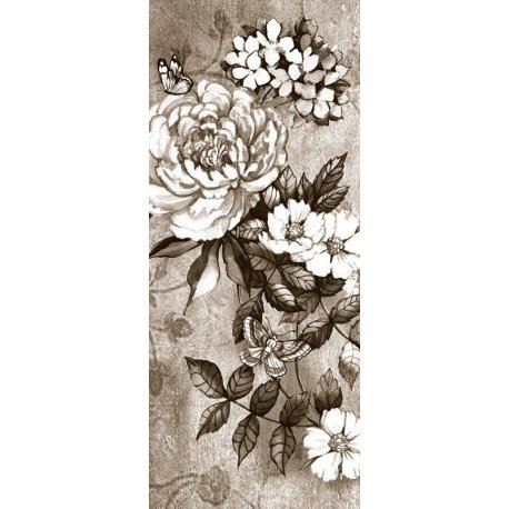 Desenho de Rosa em Preto e Branco