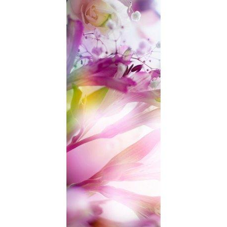 Flores Roxas Iluminadas