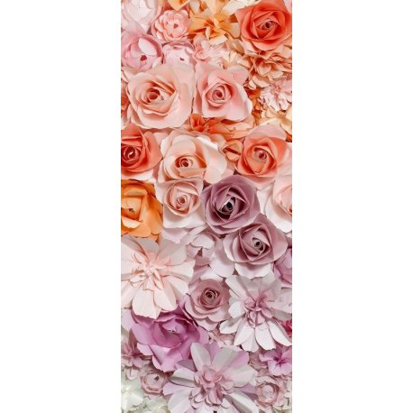 Mosaico Flores Rosa a Roxo