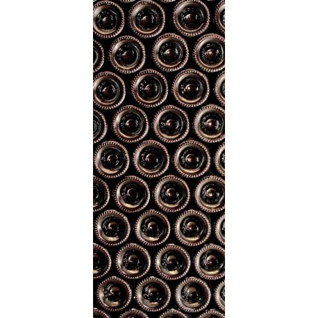 Mosaico Garrafas de Vinho