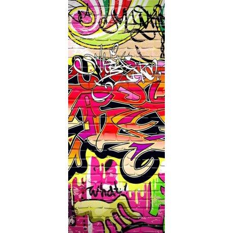 Parede de Tijolo com Graffiti
