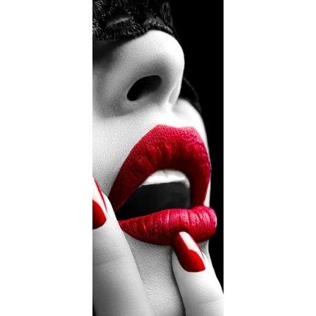 Lábios Vermelhos de Desejo
