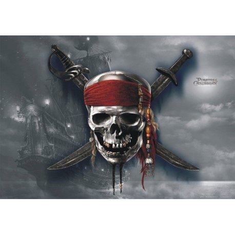 Emblema Piratas das Caraíbas Filme