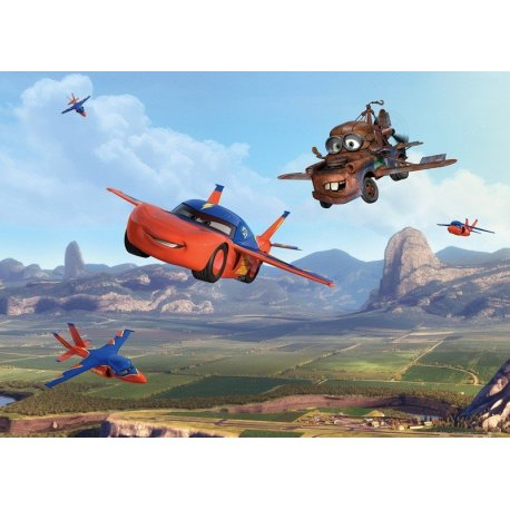 Aviões Disney no Céu