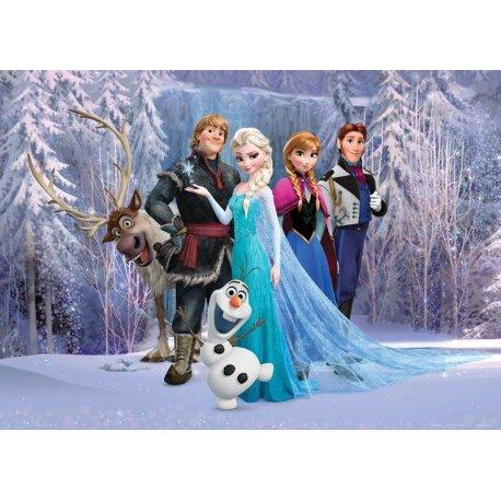 Protagonistas Frozen no Bosque