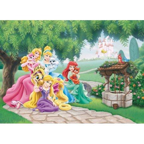 Princesas Disney com os seus Animais