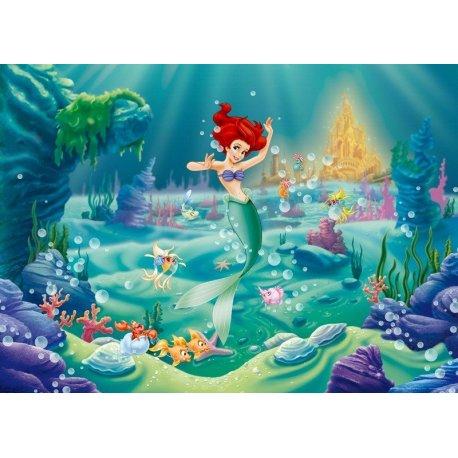 A Pequena Sereia a Dançar no Fundo do Mar