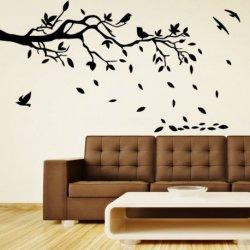Pássaros na Queda de Folhas